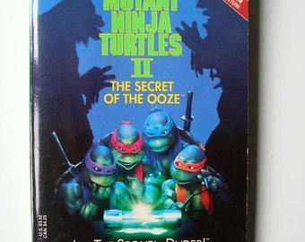 Teenage Mutant Ninja Turtles II The Secret of the Ooze Storybook 1991