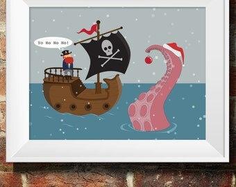 Yo HO HO HO Pirate Christmas