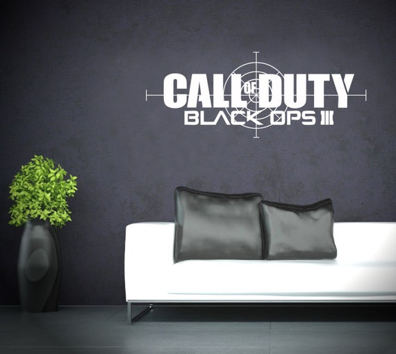 Call of Duty Black Ops 3 transfert de vinyle mur