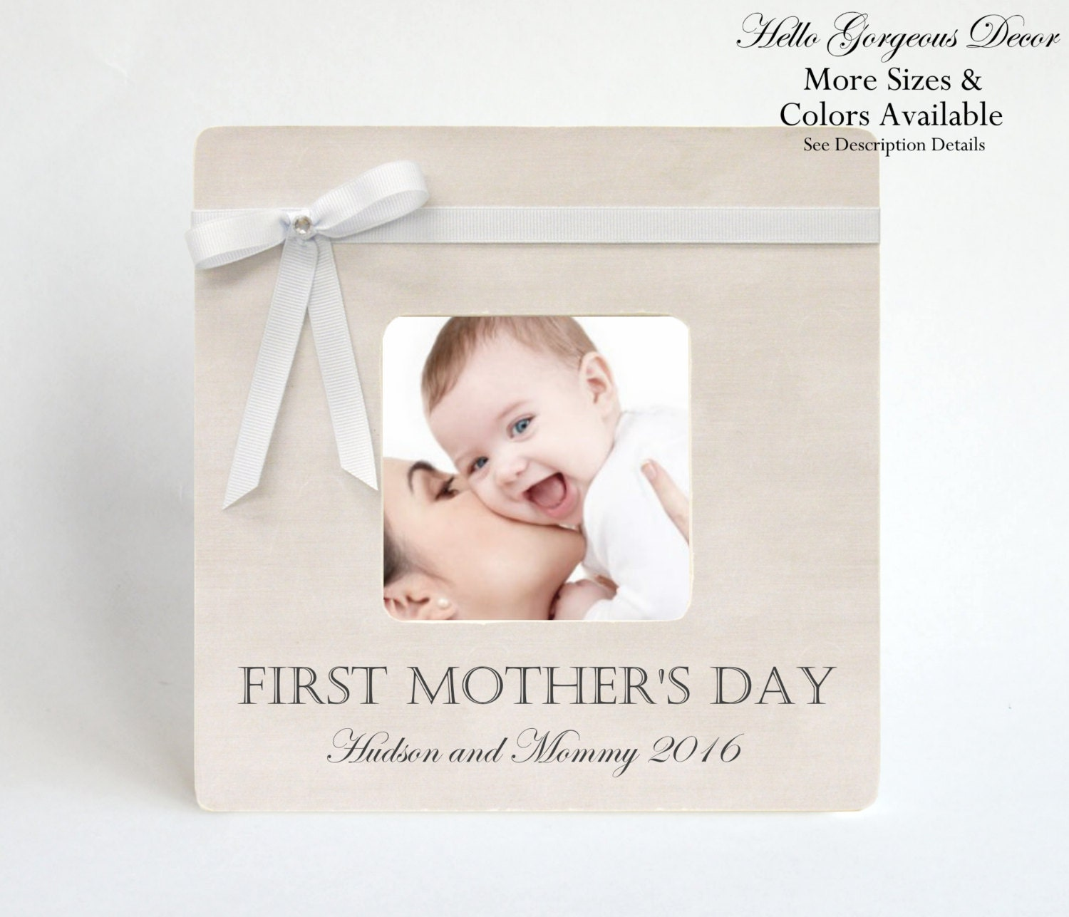 Mother 39 S Day Gift First Mother 39 S Day Picture Frame To Mom