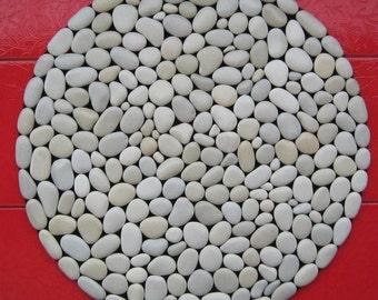 Stone mat round