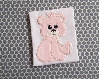 Baby Applique Baby Design Machine Embroidery  Teddy Bear