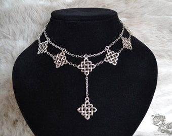 """Necklace """"The Celtic Queen"""""""