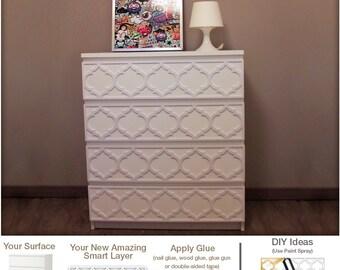 Furniture appliques etsy for Applique furniture decoration
