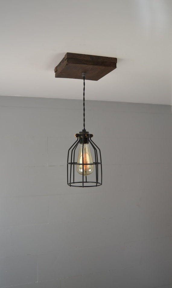 Pendant Light Pendant Lighting Reclaimed Wood Pendant