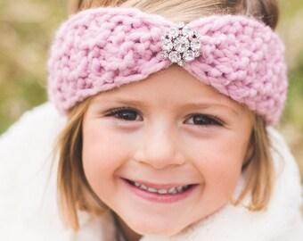 Kids Knitted Headband-Knit Headband-Kids Ear Warmer-Toddler/Baby Headband-Hair Accessory-Baby Girl Turban-Little Girl Band