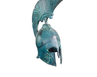Bronze Ancient Greek Helmet (Athena)