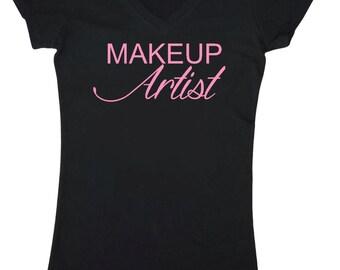Makeup Artist Shirt. Makeup T-Shirt. Makeup Artist Gift.