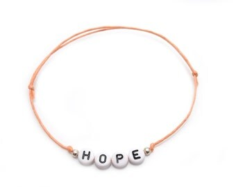 Beads silver-plated bracelet your name/Word