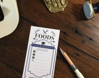 Foods Tote by Lihaopaper