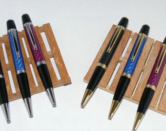 Pen Office Carbon fiber Black, Red or Blue