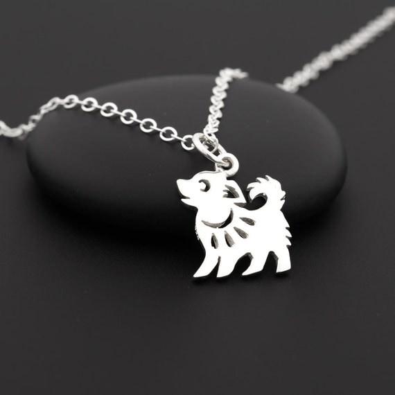 Zodiac Horoscope Dog Tag Necklace: Chinese Zodiac Year Of The Dog Necklace Birthday Necklace