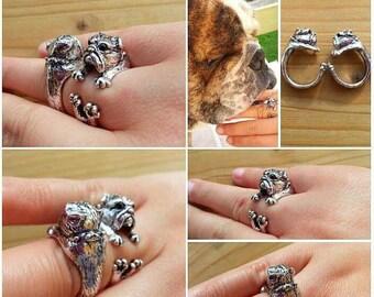 English Bulldog Ring