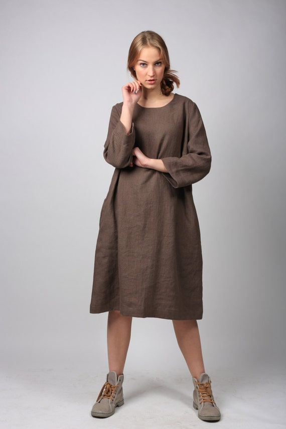 Items Similar To Linen Dress Linen Clothing Flax Tunic