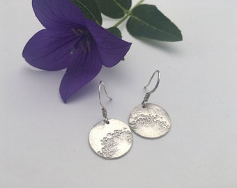 Dandelion Earrings Silver dandelion earrings, Dandelion earrings Silver dandelion Valentines gift for best friend Valentines gift for her