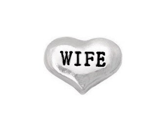 Wife Floating Charm fits All Brands of Lockets
