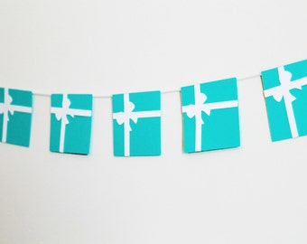 Tiffany & Co. Inspired Party Garland Banner