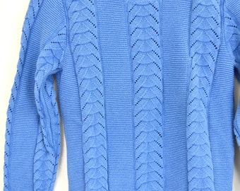 Periwinkle sweater | Etsy