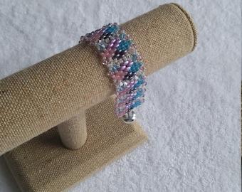 Super Sparkly Beaded Bracelet