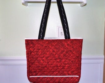 Red Classy Tote