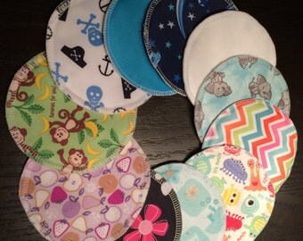 12 breastfeeding Pads