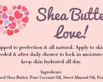Natural Whipped Body Butter