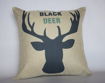 Deer Pillow Covers, Animal Pillow covers, Cushion Covers, Decorative Pillow Cases, Home decor Throw Pillows, Living Room Decor Pillows