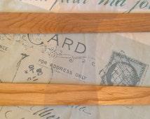 Hardwood Busk for Regency or Georgian Corset / Stays