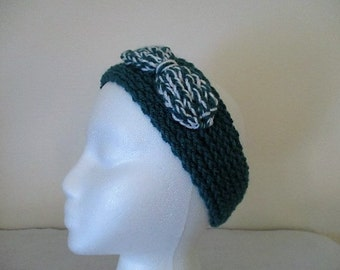 Headband Ear-Warmer with Bow