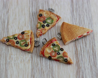 Veggies Pizza  Pendant / Charm