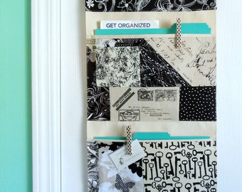 Organize with a Wall or Door Hanging Two Pocket Design