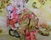 An Elephant in a paper shoe