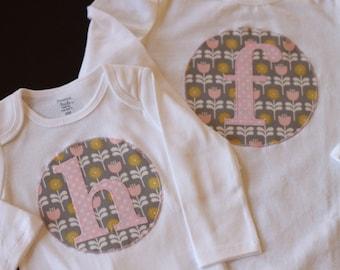 Letter Bodysuit or Shirt