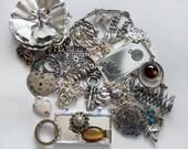 Destash Jewelry Lot, Silvertone