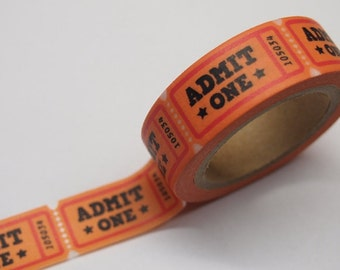 Admit One Washi Tape 15mm x 10 meters WT370
