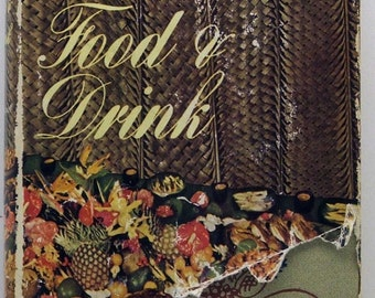 Trader Vic's Book Of Food & Drink 1946 HB/DJ