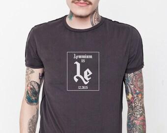 Lemmy's LEMMIUM Chemical Element Motörhead T-Shirt (Black) - by Periodically Inspired