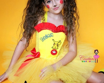 Pikachu tutu dress and costume