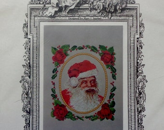 Cross Stitch Pattern YOU BETTER Watch OUT Santa Claus By Marc Saastad for The Silver Lining
