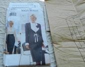 Vintage The Vogue Woman  Pattern 9390 -  Uncut -  Size 20 22 24  1995 Plus Size