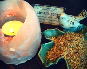 LICORICE ROOT Dried Herb, Loose Herb, Witches Apothecary