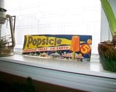 Vintage 1930s Popsicle Poster Ice Cream Sign