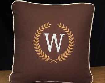 Personalized Pillow Monogramed Home Decor Pillow with Pillow Form