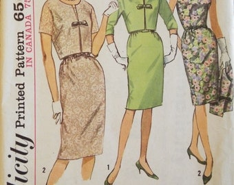 Ladies who lunch dress and jacket pattern uncut Simplicity 5491