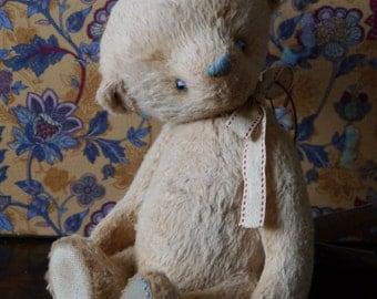 OOAK Artist Teddy Bear Bellatrix /German viscose /9 inches tall