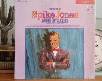 Spike Jones Record - Best of Spike Jones and His City Slickers - RCA Victor - 1967 Vintage Vinyl LP