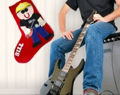 Christmas Stocking Personalized, Felt Christmas Stocking, Family Stockings, Personalized Christmas Stocking