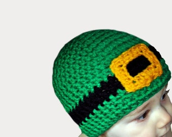Crochet Pattern Leprechaun Hat : crochet leprechaun hat ? Etsy