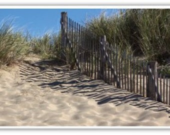 Iphone Case , Fine Art Photography, iPhone 4/4s, iPhone 5/5s, iPhone 6,  Cape Cod, Sand Dunes,  Beach Grass, Weathered Fence
