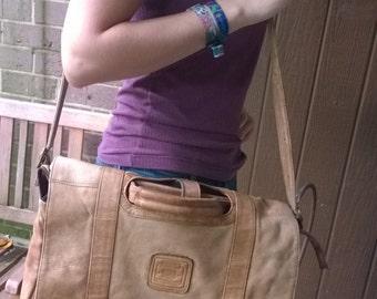 Leather Satchel Bag Briefcase
